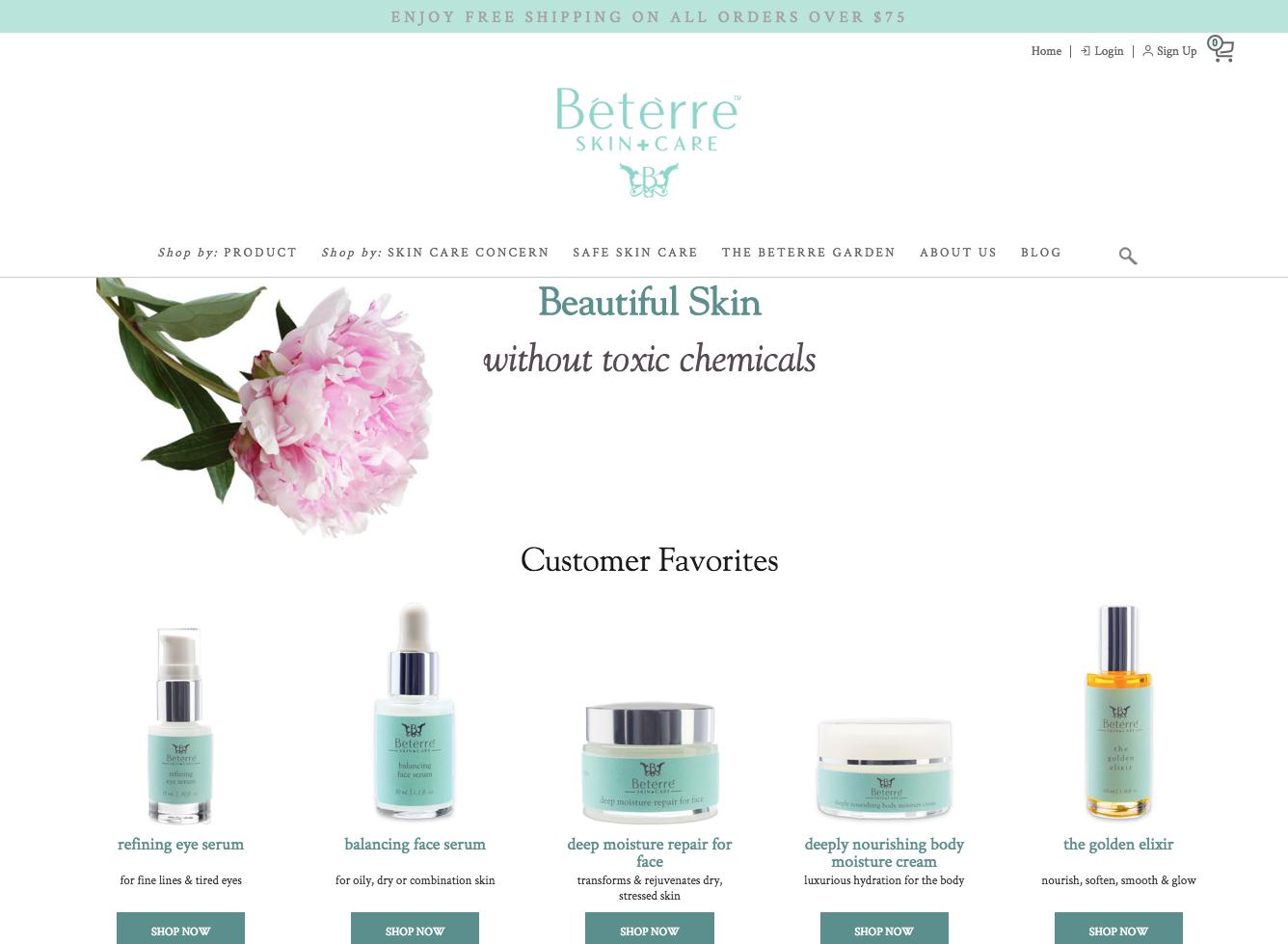 Beterre Website
