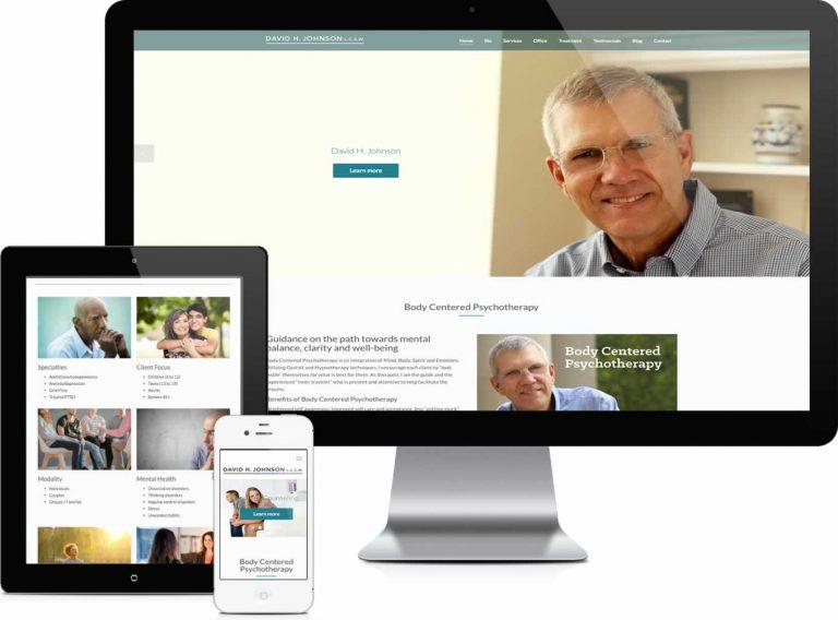 David Johnson Website