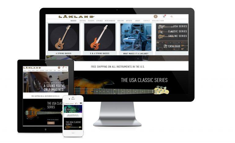 Lakland Website